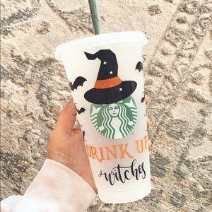 NEW custom Starbucks Halloween cup